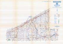 Erie County Map, Erie County 1958 - Waters - Highway